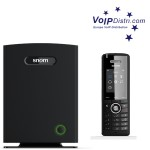 VoIPDistri.com präsentiert neue snom M700 IP-DECT Multizellen-Basisstation und M65 DECT Handsets